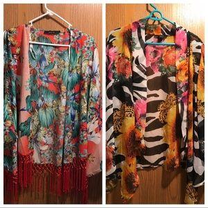 2 kimono tops for the price of 1